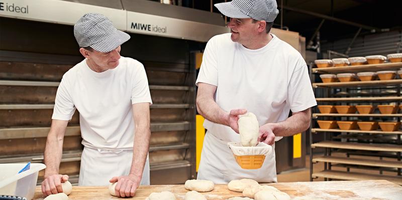 Bäckerei Ickert | Backstube in der Elbtalaue