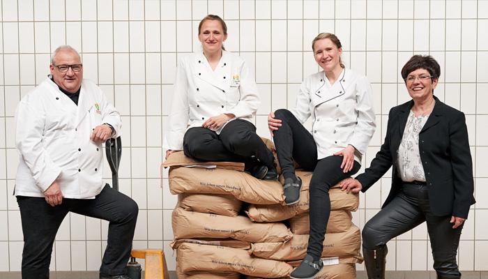 Bäckerei Ickert: Familie Ickert