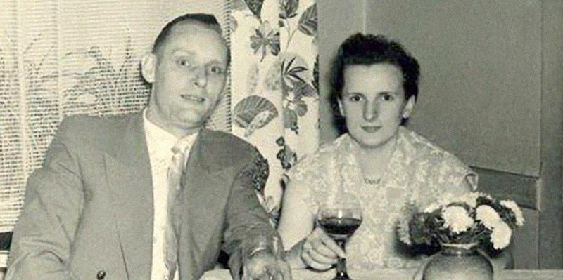 Heinz & Elfriede Ickert, ca. 1950