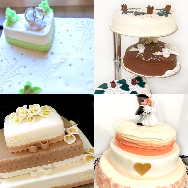 individuelle Hochzeitstorten | Bäckerei Ickert